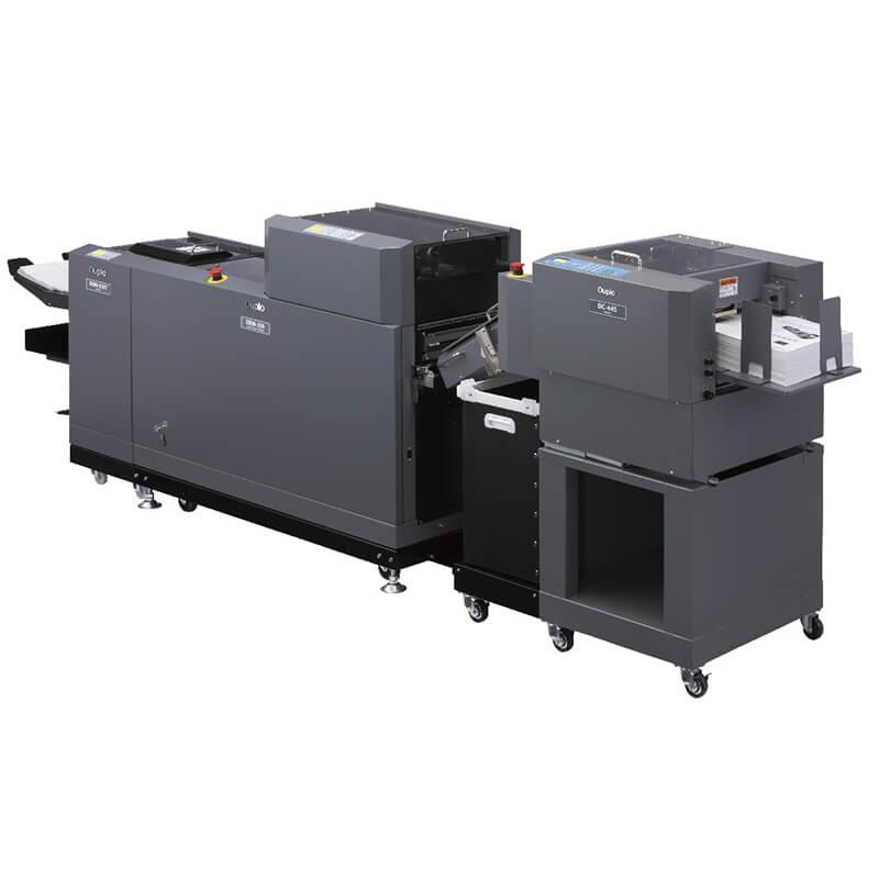 duplo system 3500 bookletmaker fingerprint digital. Black Bedroom Furniture Sets. Home Design Ideas